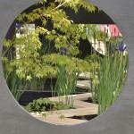 軽トラガーデン、額縁の庭